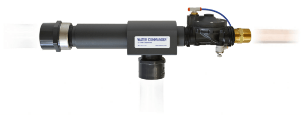 Water Commander water-powered backup sump pump