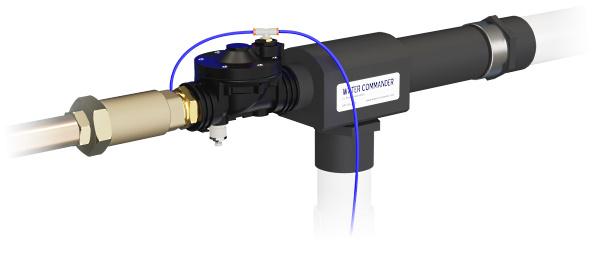 Water Commander™ Water-Powered Backup Sump Pump